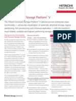 Hitachi Universal Storage Platform v Datasheet