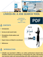 Linkedin-A Job Search Tool
