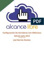 Configuracion Servidores Linux 20130715 JULIO