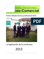 Primer debate técnico profesional 2013 - copia