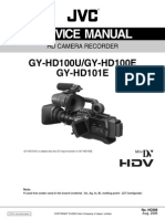 Jvc Gy-hd100,Hd101