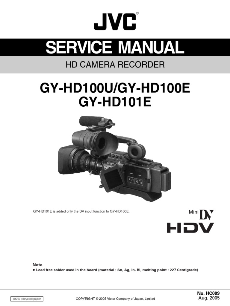 jvc gy hd100 hd101 electrical connector insulator electricity