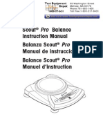 Scout Pro Manual