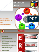 ERP Implementation Methodologies