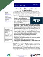 Managing 21st century networks
