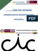Esquema Arquitectonico CIC Tipologia 2