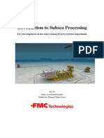 Introduction to Subsea Processing