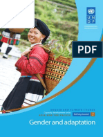 Training Module on Gender and Climate Change in Asia and the Pacific