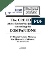Creed of Ahl Sunnah