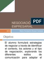1. Negociación empresarial 10B