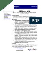 BPM and SOA