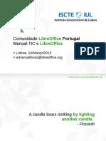 Comunidade LibreOffice Portugal no MOSS