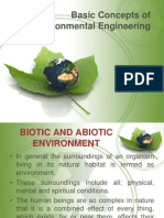 Basic Concepts of Environmental Engineering