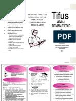 Leaflet Tifus