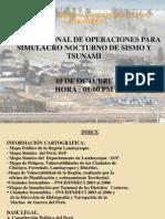 (1)POE Regional FINAL Por Simulacro Diurno de Sismo y Tsunami Octubre. 2013