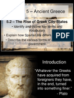 5 2 - the rise of greek city-states
