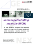 APCH1 - Single chain antibody for vaccine targeting