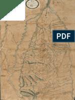 Mapa de La Provincia de Antioquia 1809