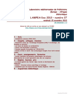 LAMPEA-Doc 2013 – numéro 37 / vendredi 15 novembre 2013