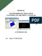 SIG CHP PC Manual Mantenimiento Aplicativo Catastral