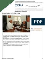 14-11-2013 'En Reynosa se promueve el turismo gastronómico_ Pepe Elías'