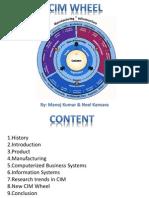 CIM Wheel-Product Design to Manufacturing Management.