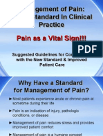 2 Management of Pain a New Standard in Clinical Practice