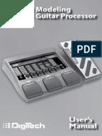 Digitech RP350 Manual
