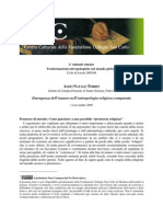 Aldo Natale Terrin - Emergenza dell'umano nell'antropologia religiosa comparata