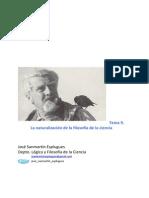 Tema 9. La Naturalizacixn de La Filosofxa de La Ciencia