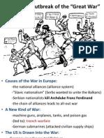 world war i outbreak final franco-prussian info included