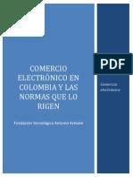 El Comercio Electronico en Colombia