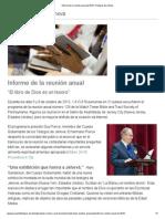 Informe de la reunión anual de 2013 _ Testigos de Jehová