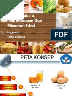 Menganalisis Makanan dan Minuman Sehat