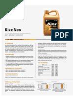 Kixx Neo Catalog