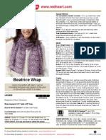 Beatrice Wrap Crochet LW2885
