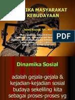 Dinamika Masyarakat dan Kebudayaan