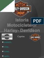 Istoria Motocicletelor Harley- Davidson