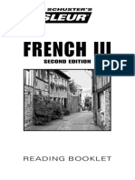 French - 3 - Bklt