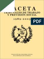 Gaceta de Trabajo 1989-2005