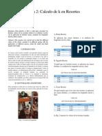 Práctica 2 Cálculo de k en Resortes ttt