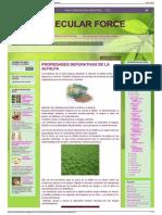 Ortomolecular Force Propiedades Depurativas de La Alfalfa