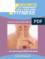 7 Secrets of  Permanent Fat Loss and Fitness