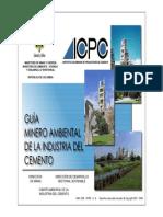 Guia Mineroambiental de La Industria Del Cemento
