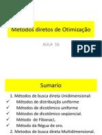 Aula 17 Métodos diretos HJ de Otimização EP