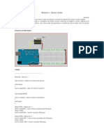 Arduino + Servomotor