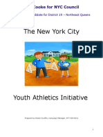 Tom Cooke's NYC Youth Athletics Initaitive