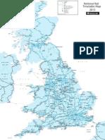 Network Rail National Map
