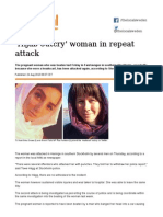 'Hijab Outcry' Woman in Repeat Attack