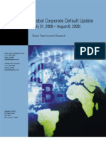 Global Corporate Default Update